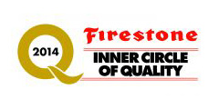 Firestone Inner Circle of Quality award